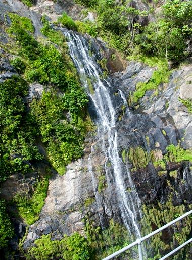 Vattenfall, Kuranda Scenic Railway