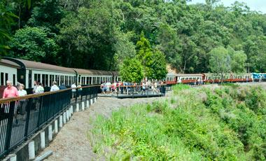 Barron falls station, Kuranda Scenic Railway