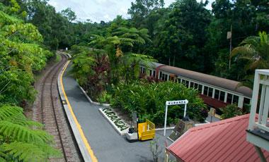 Kuranda station, Kuranda Scenic Railway