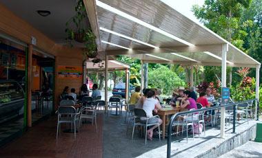 Café, Kuranda village