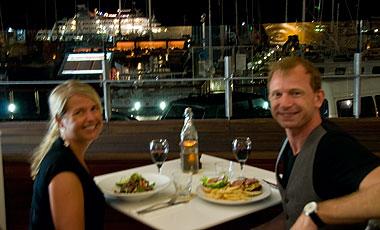 Anki & Lasse, Waterbar & Grill, Cairns