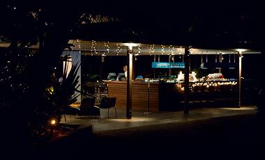 The Terrace restaurant, Dunk Island Resort