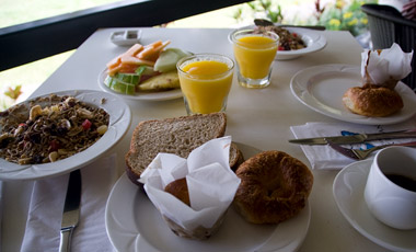 Frukost, Dunk Island Resort
