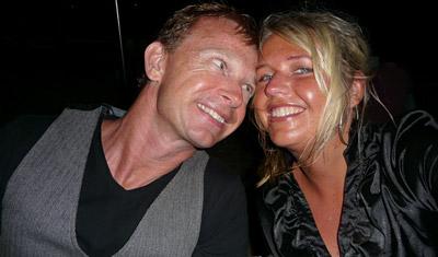 Lasse & Anki vid nyårsfirandet på Long Island Resort
