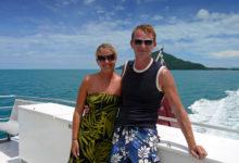 Lars & Anki lämnar Dunk Island