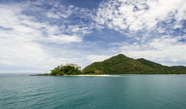 Dunk Island, Queensland, från färja