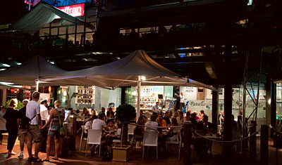Pasello Restaurant, Darling harbour, Sydney