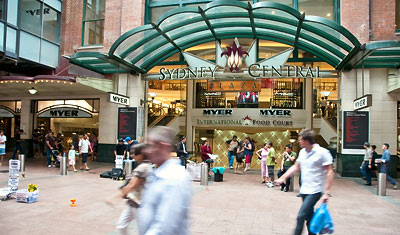 Sydney Central Shoppingmall