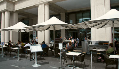 Guylian café, vid Sydney Opera House