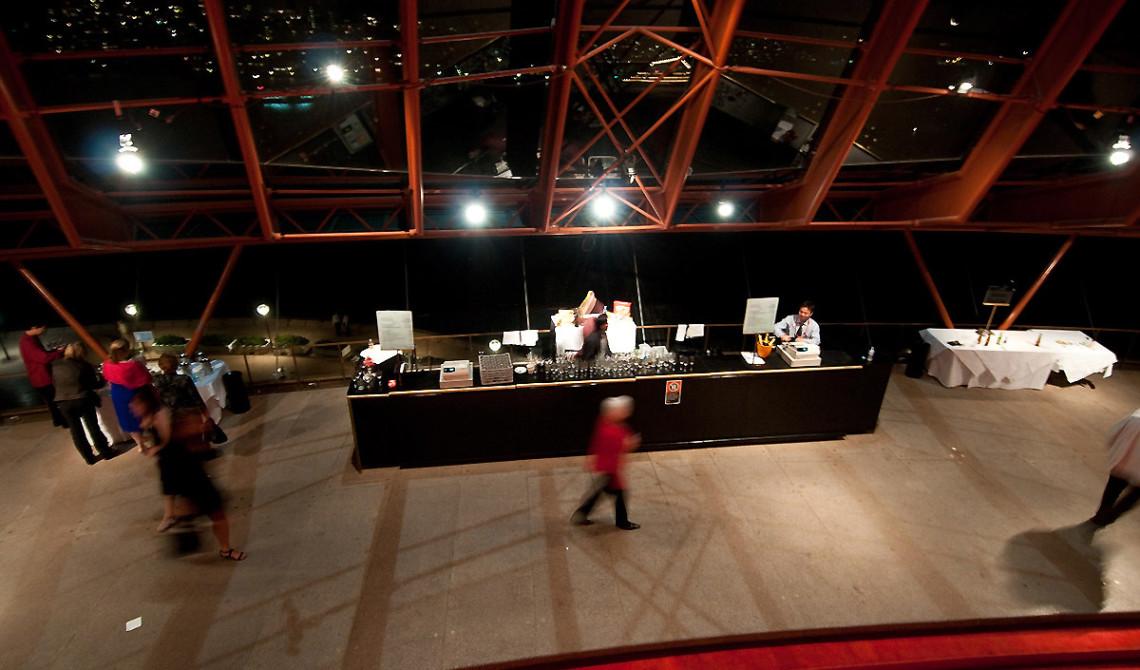 Inne i Sydney Opera House