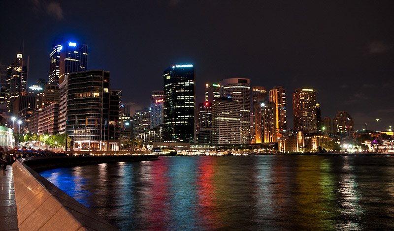 Sydney Harbour by night