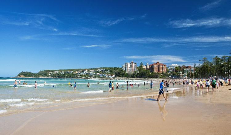 Manley Beach, Australien