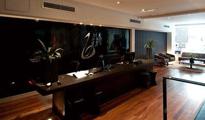 Reception, The Blacket Boutique hotel