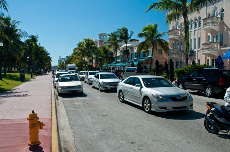 Ocean Drive, Miami Beach Florida