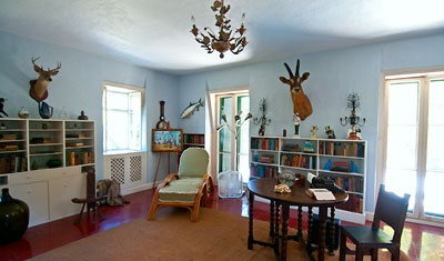 Arbetsrum, Ernest Hemingway Home, Key West