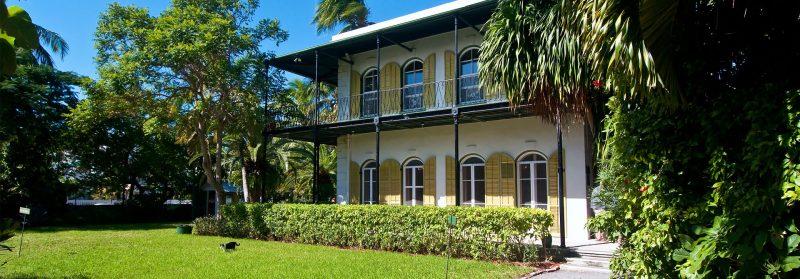 Ernest Hemingway hus på Key West