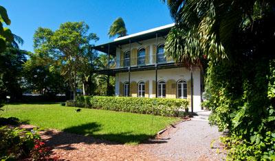 Trådgård, Ernest Hemingway Home, Key West