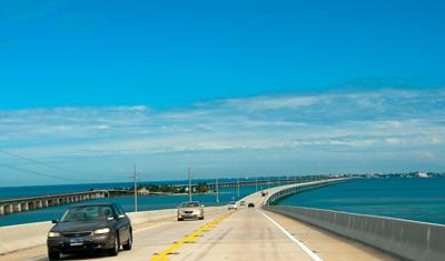 Vi lämnar Key West för att återvända till Miami
