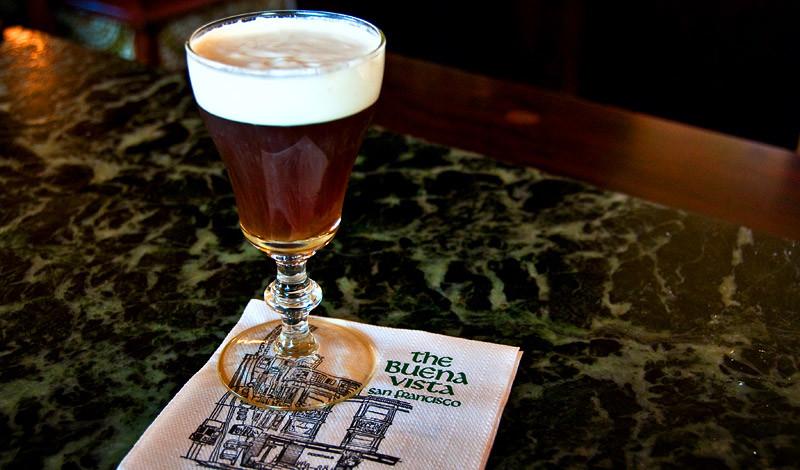 Irish Coffee på Buena Vista i San Francisco