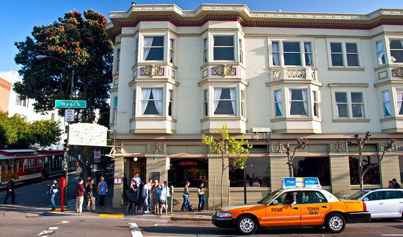 Buena Vista vid Beach Street, San Francisco