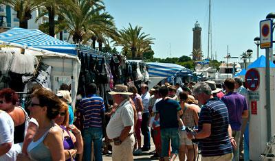 Söndagsmarknad, Estepona hamn