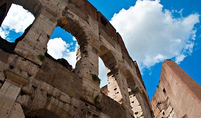 Colosseum Exteriör, Rom