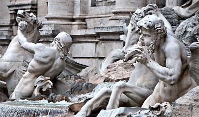 Fontana di Trevi, Rom