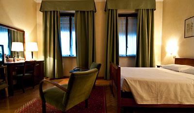 Dubbelrum, Hotel Atlantico, Rom
