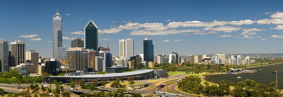Perth Panorama, Australien