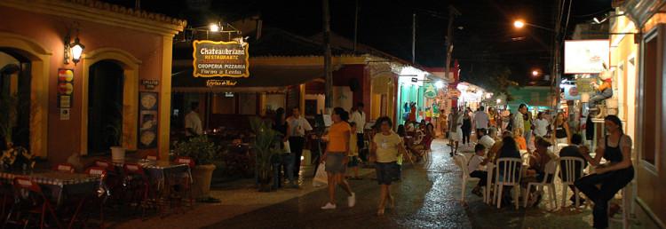 Streets of Porto Seguro, Bahia Brazil