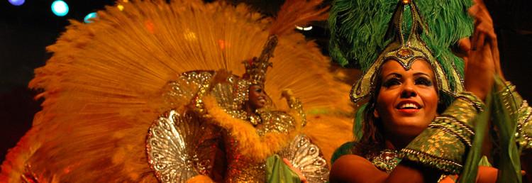 Samba och karneval i Rio, Brasilien