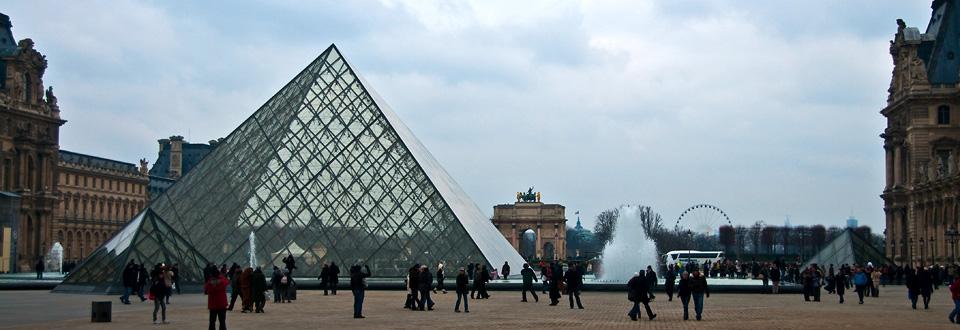 Louvren i Paris, France