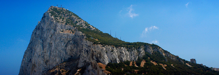 Gibraltar, The Rock View