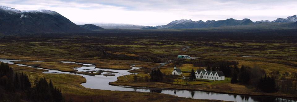 Magiska Thingvellir, Island