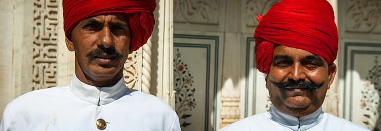 Jaipur, den rosa staden, Indien
