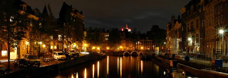 Amsterdam Nightview, Netherlands