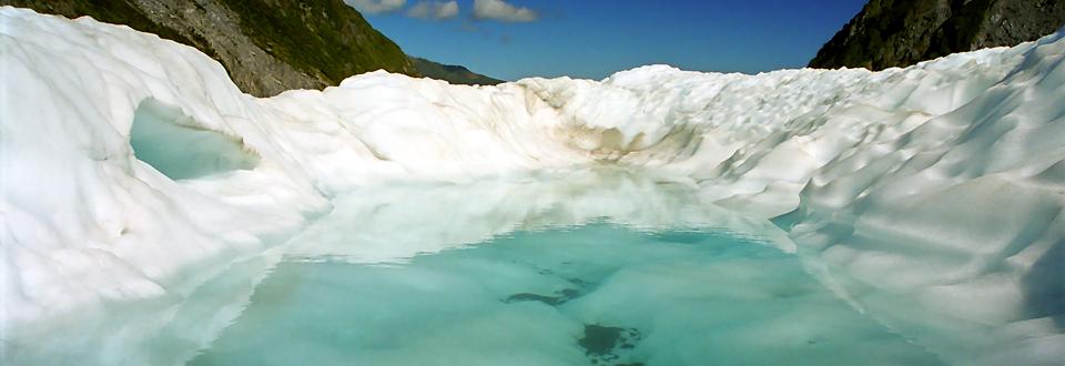 Fox Glaciär, Nya Zeeland