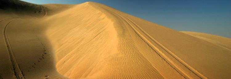 Sand dunes of Qatar