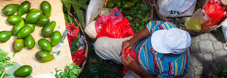 Mahé Victoria Market, Seychelles