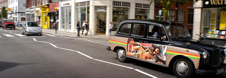 Storbritannien, London taxi