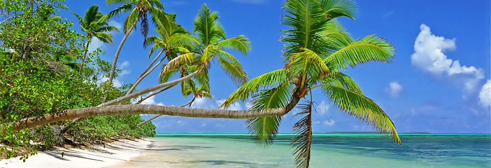 Uiha strand på Haiapa, Tonga