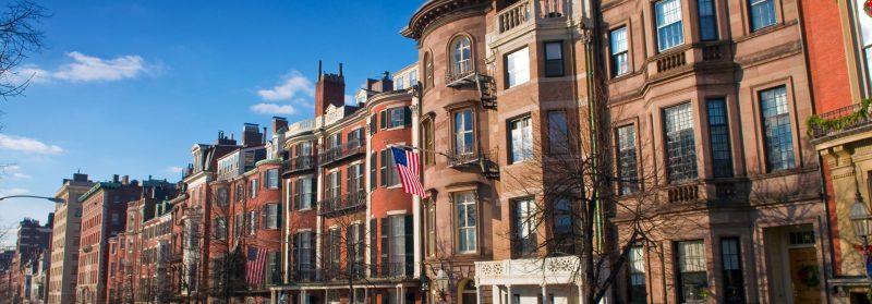 Boston Beacon Street, USA