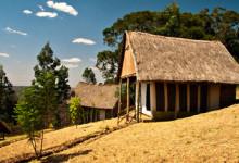 Vackra Maili Saba Camp vid kanten till Menengai kratern i Nakuru Kenya