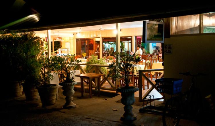 Exteriör på Chez Marston, La Digue Seychellerna