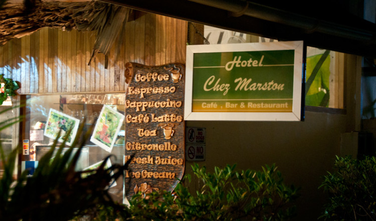Hotel och Restaurant Chez Marston, La Digue Seychellerna
