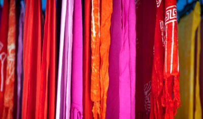 Kläder, Estepona marknad