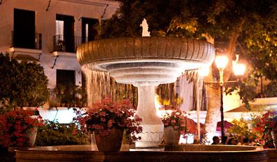 Fontän, Plaza de las Flores, Estepona