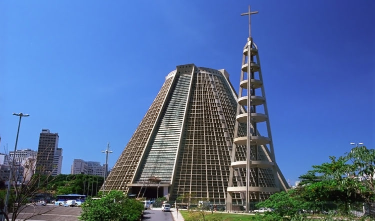Rio de Janeiros vackra Catedral Metropolitana