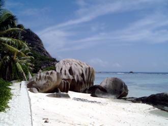 Anse Source D'Argent, La Digue, Seychellerna