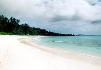 Grand Anse, La Digue, Seychellerna